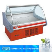 China 2m restaurant horizontal display cooked food fridge meat display chiller on sale