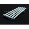 "China Sharp Point Galvanized Twist Shank Nails , 5""X BWG6 Round Head Screw Shank Nails wholesale"