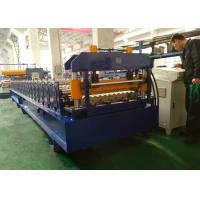 China Corrugated Metal Roof Roll Forming Machine For 914mm 1000mm Width Material wholesale
