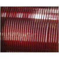 China Flat Enamelled Copper Winding Wire Single Sided Self - Adhesive For Transformers wholesale