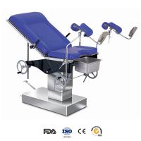 China CE approved hospital medical manual adjustable delivery bed manufacturers wholesale