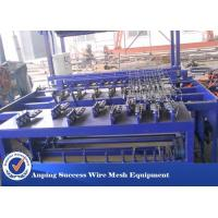 Buy cheap Hot Dipped Galvanized Wire Grassland Fence Machine Blue Color Easy Operation from wholesalers