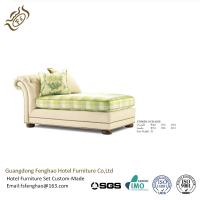 China American Style Indoor Chaise Lounge Chair With High Density Foam wholesale