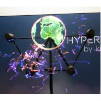 China Holographic Display 3D Hologram LED Fan Hypervsn Player For Advertising wholesale