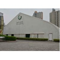 China Durable White Aluminum Frame Tent Double Pvc Coated Polyester Long Life Time wholesale