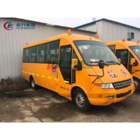 China Iveco 4X2 Diesel Engine 30 Seats School Bus With Curtain wholesale