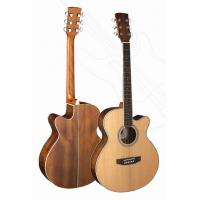 China Senior Full Size Okoume Wood Western Guitar / Wood Acoustic Guitar TP-AG27 wholesale
