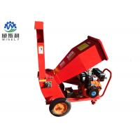 China Gas Powered 15hp Wood Chipper Machine 1-2t/H Capacity Stable Operation wholesale