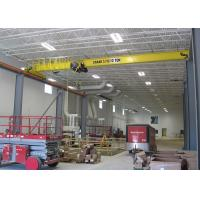 China Electric Travelling Overhead Crane Wireless Remote Control 10 Ton Single Girder wholesale