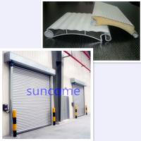 China White Panel Automatic Roller Door Roller Shutter Door 304 Stainless Steel on sale