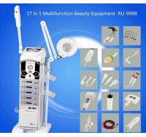 China 17 In 1 Magic Glove Bio Skin Lift Machine For Face Whitening , EMS Slimming RU9988 wholesale