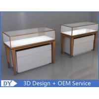 China Modern Luxury MDF Stainless Steel Jewellery Counters For Shop wholesale