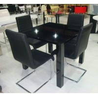 Quality dining sets,modern , high gloss finish, 1200*700*750mm, 1 pc/2ctns,27.3kg,0.063m³ for sale