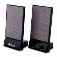 China 2.0CH Speaker with S/N Ratio of More Than 40dB, Measuring 2 x 2.25cm wholesale