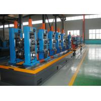 China High Precision Carbon Steel ERW Tube Mill Line With Worm Adjustment wholesale