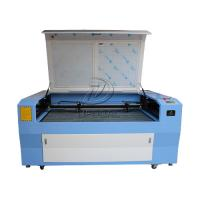 Quality Dual Heads Cloth Fabric Leather Co2 Laser Cutter Engraver 1600*1000mm for sale