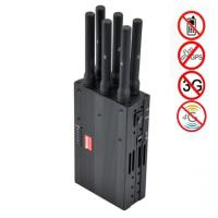 China 6 Antenna High Power Portable Cell Phone Signal Jammer Blocking GSM 3G 4G LTE WIMAX GPS wholesale