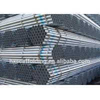 Quality Factory Supply Q235 HDG Galvanized Tube Pipes for Scaffolding System for sale