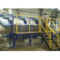 Quality High Automatic Plastic Washing Recycling Machine , 1500 Kg / H Plastic Bag for sale
