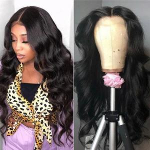 China Brazilian 250g HD 13x4 Lace Front Human Hair Wigs wholesale