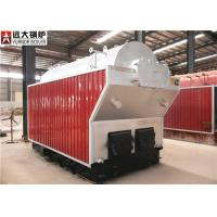 Manual Feeding Wood Fired Steam Boiler Work In Papermaking Industry