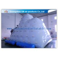 China Berg Inflatable Water Game White Inflatable Air Climbing Playing On Water wholesale