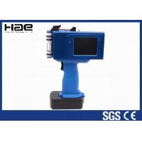 China Qr Code Date And Time Ebs 250 Handheld Inkjet Printer Portable Touch Screen wholesale