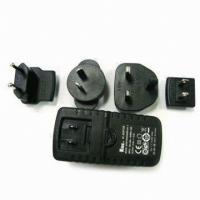 China 1.25A to 4A Ktec Wide Range Travel Power Adapters Adapter with 3.0 to 24.0V Output Voltage wholesale