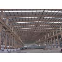 China Rust Resisting Metal And Glass Greenhouse  , Commercial Large Greenhouse Frames wholesale