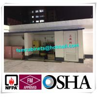 Flammable Safety Storage Cabinet For Oil Station, Paint Storage Cabinet For Laboratory