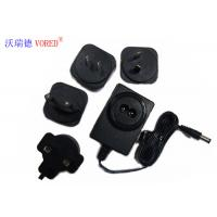 China 18V 500mA Interchangeable Power Supply PC ABS Material Short Circuit Protection wholesale