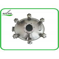 China Sight Glass Stainless Steel Manhole Cover High Pressure Elliptical Shaped wholesale