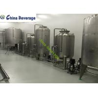 China Pure Reverse Osmosis Water Treatment System For Water Bottling Line SUS316 wholesale