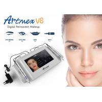 China Aluminum Case 2 Handpieces Tattoo Permanent Cosmetic Makeup Eyebrows Machine wholesale