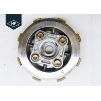 China Titan Honda Motorcycle Clutch Kits , Silver / Black 150cc Clutch Disc Assembly  wholesale