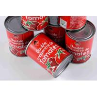 China Classic Canned Tomato Paste Rich Vitamins Nutrition No Artificial Colors wholesale