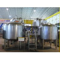 China 2000L Large Scale Beer Brewing Equipment In Hotel , Restaurant , Brewpub on sale