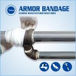 China Pipe fix knit Underground pipe repair Pipe repair bandage Pipe repair armored wrap tape wholesale