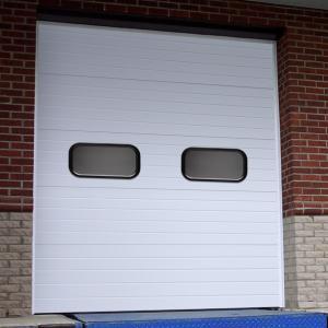 China Sectional garage door on sale