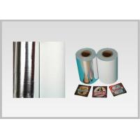 China Non Toxic Vacuum Metallized Paper , Ink Retention Lamination Paper Roll wholesale