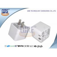 China Ultrasonic Thin Folding Pin Universal USB Power Adapter AC TO DC 2.4A US Standard wholesale
