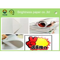 China Durable 105 Gsm Glossy Laser Paper , Glossy Brochure Paper Moisture Proof wholesale