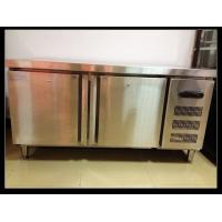 Quality Double Doors Under Counter Freezer , Hotel Stainless Steel Freezer for sale