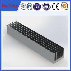 China OEM 300 types per year anodized aluminum alloy profile extruded aluminum heatsink wholesale