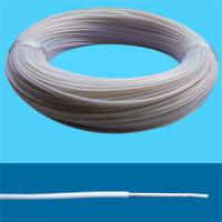 China Transparent Tinned/Silver-coated copper conductor PTFE/PFA/FEP insulated wires and cables wholesale