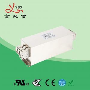 China Yanbixin 50A Terminal Block RFI Power Filter / Mains Rfi Filter Metal Case wholesale