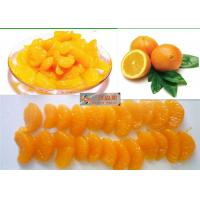 China Sweet Organic Canned Fruit Navel Oranges In Light Syrup 312g Whole Orange Segments wholesale