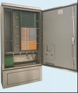 Buy cheap 576 Cores Cross Connect Cabinet , Fiber Optical Distribution Cabinet from wholesalers