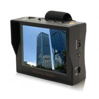 """Quality Portable 3.5"""" TFT LED Audio Video Security Tester CCTV Camera Test Monitor for sale"""