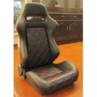 China Double Or Single Slider Sport Racing Seats / Automotive Racing Bucket Seats wholesale